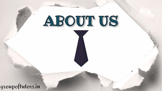 About us Group Of Tutors