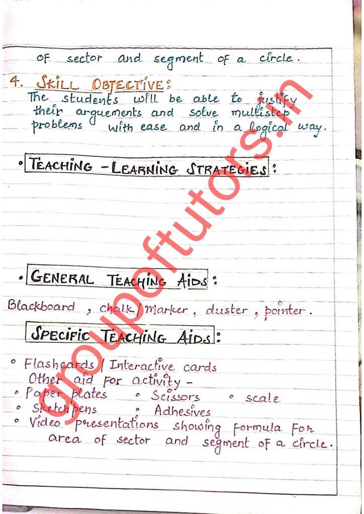 Jamia, CRSU, MDU, IPU, DU Lesson plans
