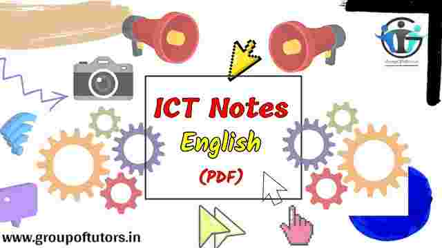 ICT Notes English