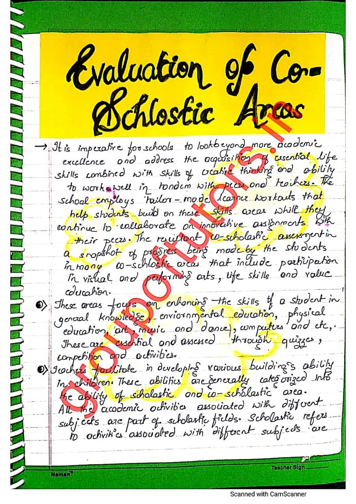 School Based Activity File For B.Ed CCE third file for b.ed for group of tutors