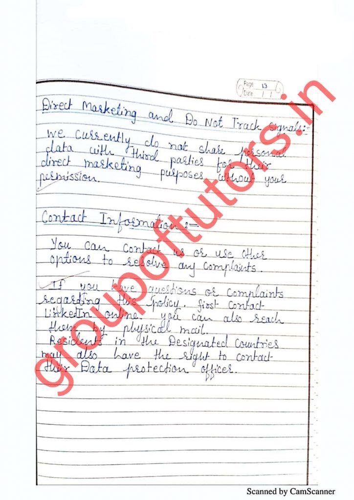 B.Ed practical files group of tutors