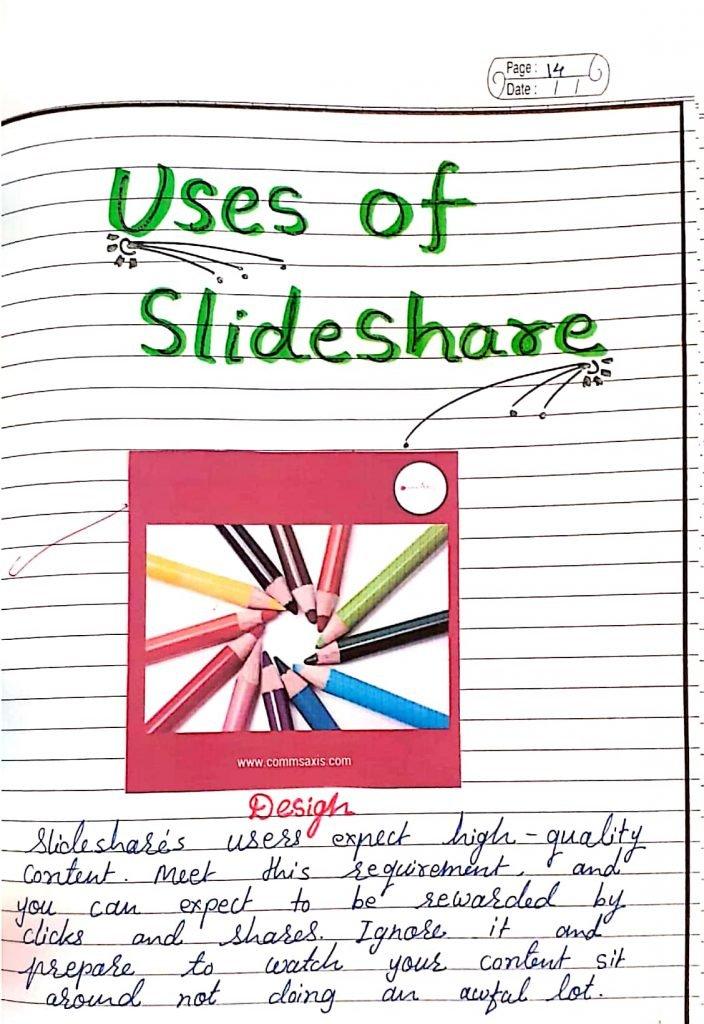 Uses of Slideshare app