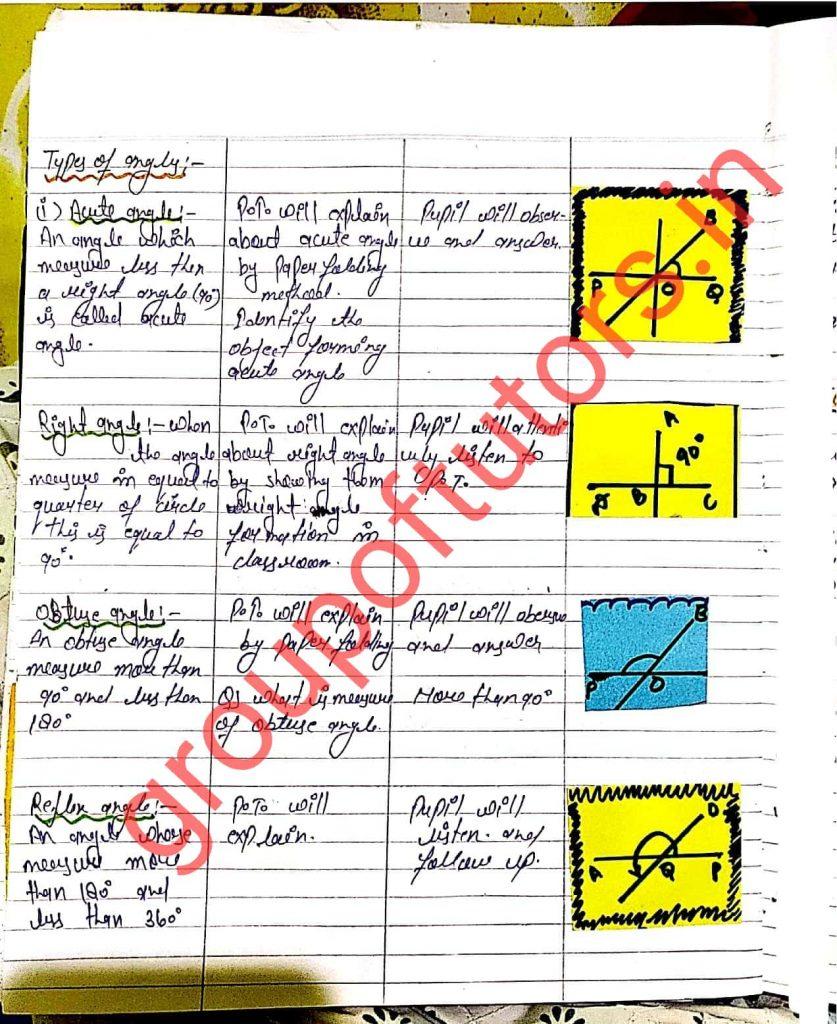 group of tutors lesson plan